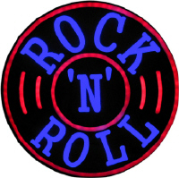 Rock n Roll Neon Effect LED - Click on image to enlarge