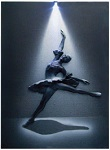 Ballerina 3D LED Picture - Click on image to enlarge