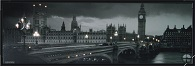 London Scene Canvas LED Pictures - Click on image to enlarge