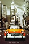 New York Yellow Taxi Canvas LED Pictures - Click on image to enlarge