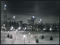 Winter Time Canvas LED Pictures - Click on image to enlarge