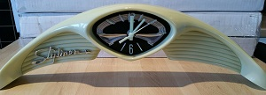 Retro Resin Oldsmobile Clock - Click on image to enlarge