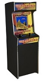 Game Time 60 Upright Arcade Machine  - Click to view details