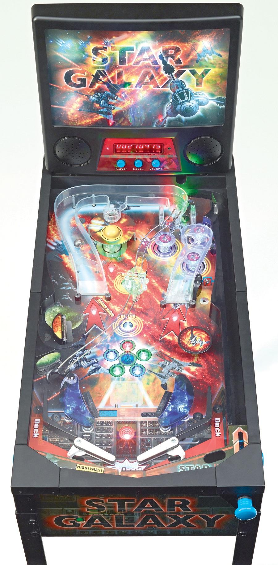 Star Galaxy Pinball Machine Pinball Machines Arcade