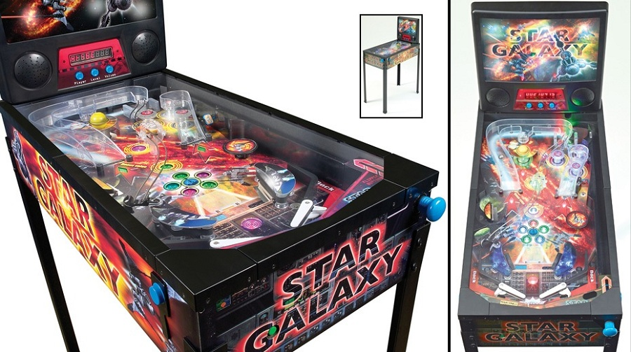 Star Galaxy Pinball Machine Pinball Machines Arcade