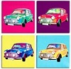 Mini Car Canvas Pictures - Click on image to enlarge