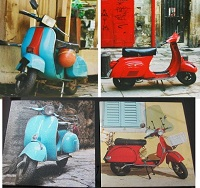 Scooter Canvas Pictures - Click on image to enlarge