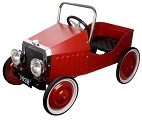 50s Style Metal Pedal Cars - Click here for details