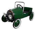 Jalopy Green Pedal Car - Click to view