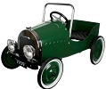 Jalopy Pedal Car Red