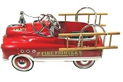 Comet Firefighter Pedal Car - Click to view