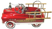Comet Firefighter Pedal Car