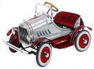 Deluxe Model T Pedal Car Red