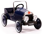 Jalopy Blue Pedal Car - Click to view