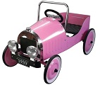 Classic Pink Pedal Car - Click to view