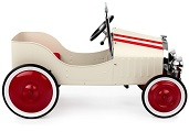 Jalopy White Pedal Car - Click to view