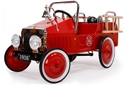 Jalopy Fire Engine Pedal Car - Click to view