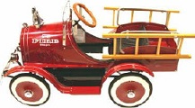 Model T Fire Truck Pedal Car - Click to view
