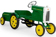 Pedal Tractor with Trailer - Click to view