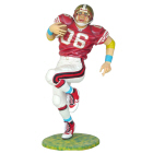 US Footballer Lifesize Resin Figure