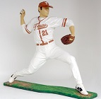 Baseball Pitcher Lifesize Resin Figure
