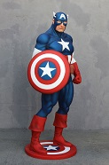 Captain America Lifesize Resin Figure
