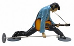 Elvis Splitting Lifesize Resin Figure