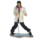 Elvis with Mike Lifesize Resin Figure