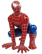 Spiderman Lifesize Resin Figure
