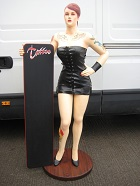 Tattoo Girl Lifesize Resin Figure