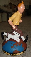 Tin Tin Resin Figure 75cm