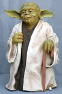 Yoda Lifesize Resin Figure