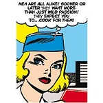Cook for Men Greeting Card