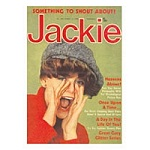 Jackie Shout Greeting Card