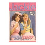 Jackie Twice Greeting Card