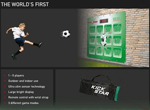 Kick Star Electronic Football - Click here to Enlarge Picture