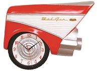 Chevy Fin Clock - Click on image to enlarge