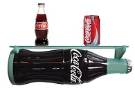 Coca Cola 3D Wall Shelf - Click on image for details