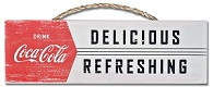 Coca Cola Delicious Sign - Click on image for details