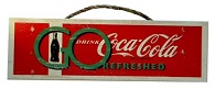 Coca Cola Go Refreshed Sign - Click on image for details