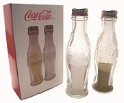 Coca Cola Salt and Pepper Shakers - Click on image for details
