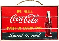 Coca Cola We Sell Sign - Click on image for details