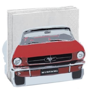 Mustang Serviette Holder - Click on image to enlarge