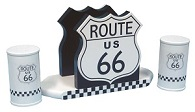 Route 66 Salt and Pepper Holder - Click on image for details
