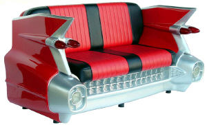 Retro Cadillac Sofa - Click on image to enlarge