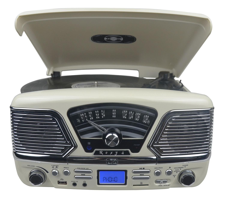 Record Player Steepletone Roxy 4 Cd Encode Mp3 Record