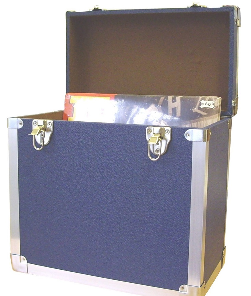 Lp Record Box Steepletone Srb2 Portable Lp Record Box