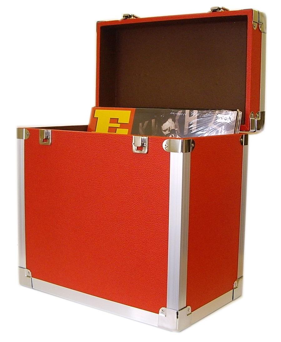 LP Record Box | Steepletone SRB2 Portable LP Record Box ...
