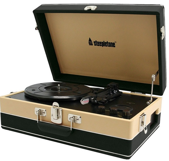 Srp05tt Record Player Steepletone Srp05tt Portable