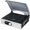 ST938 Stand Alone Record Player Silver